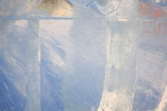 Ο σαφής πάγος αστράφτει στον ήλιο Στοκ Εικόνες