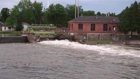 Ο Σενέκας River απόθεμα βίντεο