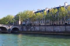Ο Σηκουάνας και το Παρίσι, Γαλλία Στοκ Εικόνα