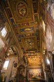 Ο σηκός της βασιλικής του ST John Lateran στη Ρώμη Ιταλία Στοκ φωτογραφία με δικαίωμα ελεύθερης χρήσης