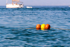 Ο σημαντήρας στη θάλασσα Στοκ εικόνες με δικαίωμα ελεύθερης χρήσης