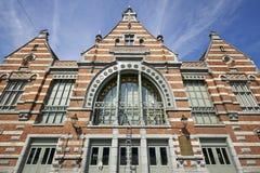 Ο σιδηροδρομικός σταθμός Schaerbeek Στοκ εικόνα με δικαίωμα ελεύθερης χρήσης