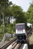 Ο σιδηρόδρομος απότομων βράχων Babbacombe σε Torquay Αγγλία UK Στοκ φωτογραφία με δικαίωμα ελεύθερης χρήσης