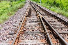 Ο σιδηρόδρομος για τη μεταφορά, σιδηρόδρομος μεταφορών Στοκ Εικόνα