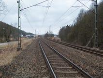Ο σιδηρόδρομος στο Γκέτεμπουργκ Στοκ φωτογραφία με δικαίωμα ελεύθερης χρήσης