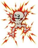 Ο σκελετός αποκριών παίρνει έναν κλονισμό ελεύθερη απεικόνιση δικαιώματος