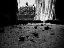 Ο σκοπός της τέχνης πλένει τη σκόνη της καθημερινής ζωής από τις ψυχές  στοκ εικόνα