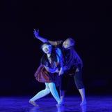 Ο σκοτεινός χορός κόσμος-πανεπιστημιουπόλεων Στοκ φωτογραφίες με δικαίωμα ελεύθερης χρήσης