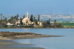 Ο σουλτάνος Tekke Hala στη Κύπρο Λάρνακα στοκ φωτογραφία με δικαίωμα ελεύθερης χρήσης