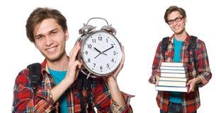 Ο 0 σπουδαστής που χάνει τις προθεσμίες του Στοκ Εικόνα
