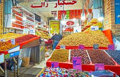 Ο στάβλος της Τεχεράνης μεγάλο Bazaar Στοκ Φωτογραφία