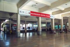 Ο σταθμός μετρό Marmaray σε Sirkeci στοκ εικόνες