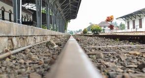 Ο σταθμός τρένου Στοκ φωτογραφίες με δικαίωμα ελεύθερης χρήσης