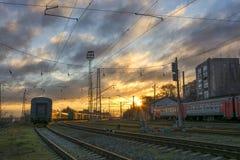 Ο σταθμός Στοκ Εικόνες