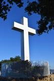 Ο σταυρός στην ΑΜ Πάρκο ελίκων στο Σαν Ντιέγκο Στοκ Εικόνες