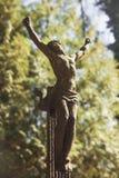 ο σταυρός Χριστού ο ιερός Ιησούς Στοκ εικόνα με δικαίωμα ελεύθερης χρήσης