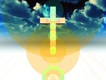 Ο σταυρός 28 Στοκ Εικόνες