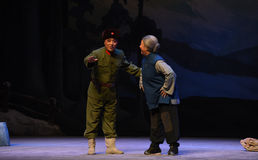 """Ο στρατός απελευθέρωσης των ανθρώπων και οι άνθρωποι στη """"Taking τίγρη Montain οπερών συζήτηση-Πεκίνο από Strategy† Στοκ Φωτογραφία"""