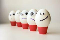 Ο στρατός είναι η έννοια της διαταγής και πειθαρχικός Αυγά Στοκ Εικόνα