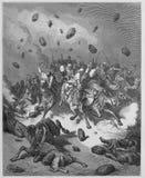 Ο στρατός του Amorites καταστρέφεται ελεύθερη απεικόνιση δικαιώματος