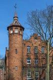 Ο στρογγυλός πύργος τούβλινου Στοκ Εικόνες