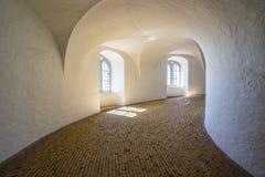 Ο στρογγυλός πύργος στην πόλη της Κοπεγχάγης, Δανία Στοκ Φωτογραφίες