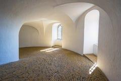 Ο στρογγυλός πύργος στην πόλη της Κοπεγχάγης, Δανία Στοκ Εικόνες