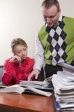 ο συνάδελφος επιχειρη&si Στοκ εικόνα με δικαίωμα ελεύθερης χρήσης