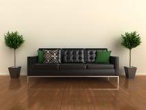 ο σχεδιαστής ο καναπές Στοκ Εικόνα