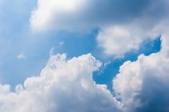 Ο σωρείτης μπλε ουρανού καλύπτει το υπόβαθρο στοκ φωτογραφία με δικαίωμα ελεύθερης χρήσης
