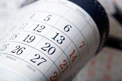 Ο σωρός των ημερολογιακών φύλλων κλείνει επάνω Στοκ εικόνες με δικαίωμα ελεύθερης χρήσης