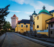 15ο σύνταγμα ιππικού μνημείων στο Πόζναν, Πολωνία Στοκ Εικόνες