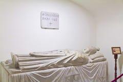 Ο τάφος του παπά Boniface VIII Στοκ Εικόνες
