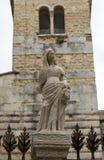 Ο τάφος Cansignorio, ένας από πέντε γοτθικούς τάφους Scaliger, ή Arche Scaligeri, στη Βερόνα, Στοκ εικόνα με δικαίωμα ελεύθερης χρήσης