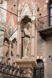 Ο τάφος Cansignorio, ένας από πέντε γοτθικούς τάφους Scaliger, ή Arche Scaligeri, στη Βερόνα, Στοκ Εικόνες