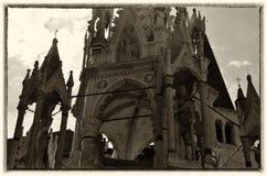 Ο τάφος Cansignorio, Βερόνα, Ιταλία Στοκ φωτογραφία με δικαίωμα ελεύθερης χρήσης