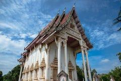 Ο ταϊλανδικός ναός Στοκ Εικόνες