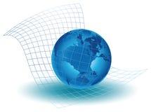 Ο τεχνολογικός κόσμος Στοκ εικόνα με δικαίωμα ελεύθερης χρήσης