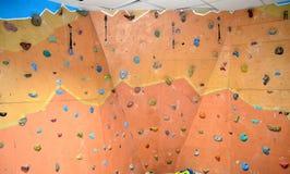 Ο τοίχος για τους ορειβάτες Στοκ φωτογραφία με δικαίωμα ελεύθερης χρήσης