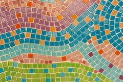 Ο τοίχος διακοσμεί με την αγγειοπλαστική προσδιορισμού Στοκ Εικόνες