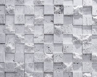 Ο τοίχος κεραμώνει το κυβικό υπόβαθρο σύστασης σχεδίων Στοκ εικόνες με δικαίωμα ελεύθερης χρήσης