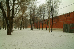 Ο τοίχος μοναστηριών Στοκ εικόνες με δικαίωμα ελεύθερης χρήσης