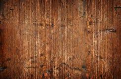 ο τοίχος ξεπέρασε ξύλινο Στοκ Εικόνες