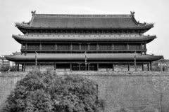 Ο τοίχος πόλεων στη μητρόπολη ΧΙ ` μια μέσα Κίνα στοκ φωτογραφίες με δικαίωμα ελεύθερης χρήσης