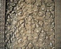 Ο τοίχος σχεδίων σε Angkor Wat, Siem συγκεντρώνει, Καμπότζη Στοκ Εικόνες