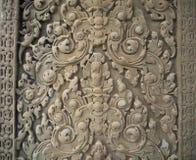 Ο τοίχος σχεδίων σε Angkor Wat, Siem συγκεντρώνει, Καμπότζη Στοκ εικόνα με δικαίωμα ελεύθερης χρήσης