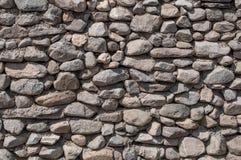 Ο τοίχος της φυσικής πέτρας Στοκ φωτογραφία με δικαίωμα ελεύθερης χρήσης