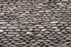 Ο τοίχος της φυσικής πέτρας Στοκ Φωτογραφία