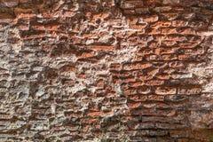 Ο τοίχος του αρχαίου κτηρίου Στοκ Εικόνα