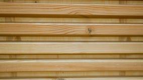 Ο τοίχος του ξύλου έχει τη μορφή των τυφλών Ξύλινο υπόβαθρο του φιλτραρίσματος τυφλών σανίδων απόθεμα βίντεο